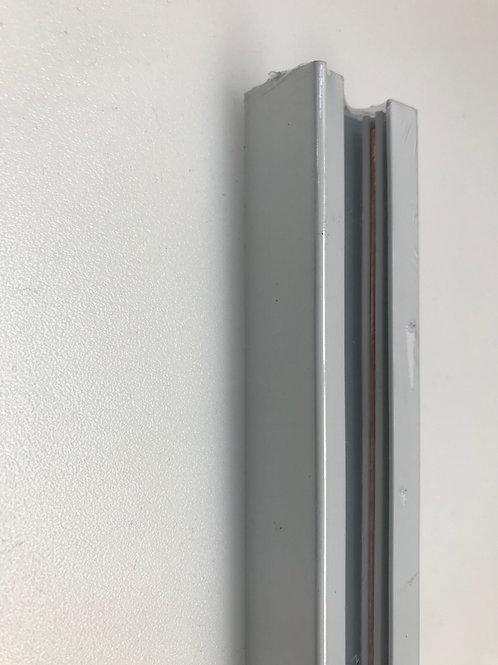 BINARIO ELETTRIFICATO MONO FASE BIANCO / NERO 1mt / 2mt/ 3mt