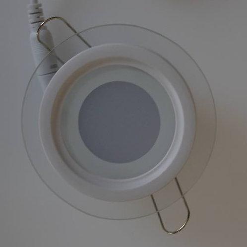 PANNELLO A LED ROTONDO 6W CRISTALLO