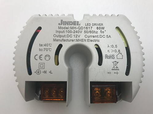 ALIMENTATORE 60W, 100W E 150W DC12V/24V IP20