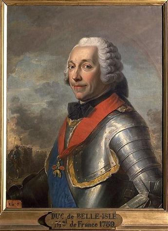 Maréchal Duc de Belle Isle