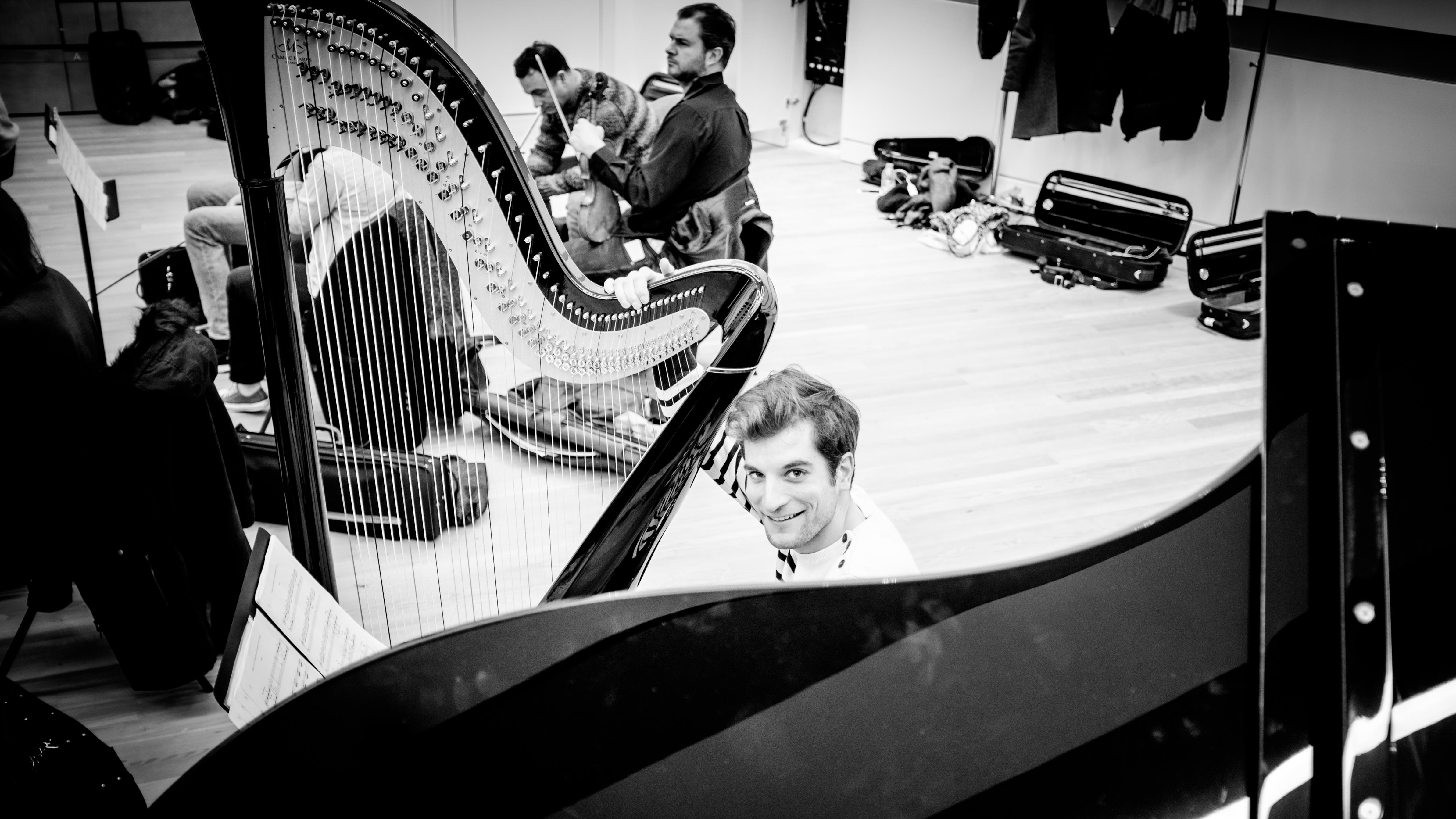 Léo Doumène, harpiste