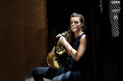 Manon Souchard, corniste