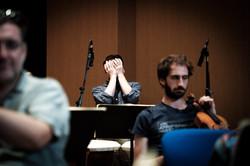Enregistrement de l'album Mozart
