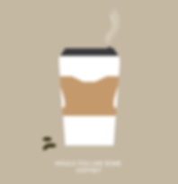 Coffee flat design