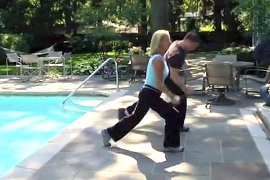 Poolside Workout, Kenilworth IL