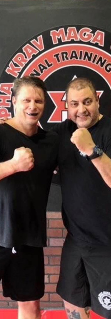 Brian and Instructor Al
