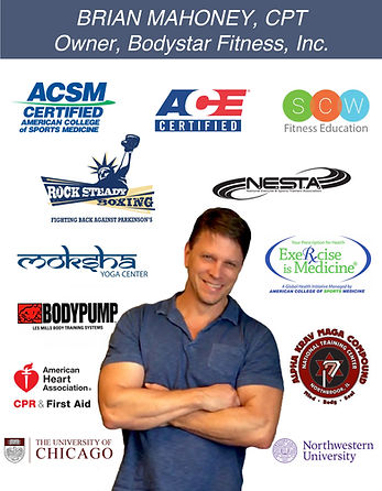 Brian Mahoney Personal Training Certific