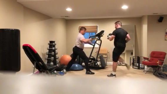 Strength and Boxing Workout, Glencoe IL