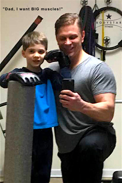 Bodystar Fitness Dad and Son