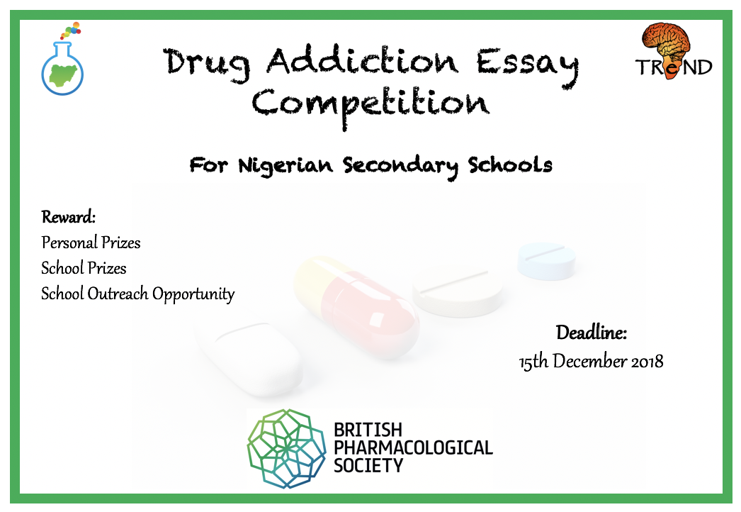 Essays About Business Drug Addiction Essay Competition For Nigerian Secondary Schools  Home   Science Communication Hub Nigeria Essay About Health also Health Care Essay Drug Addiction Essay Competition For Nigerian Secondary Schools  Best English Essay Topics