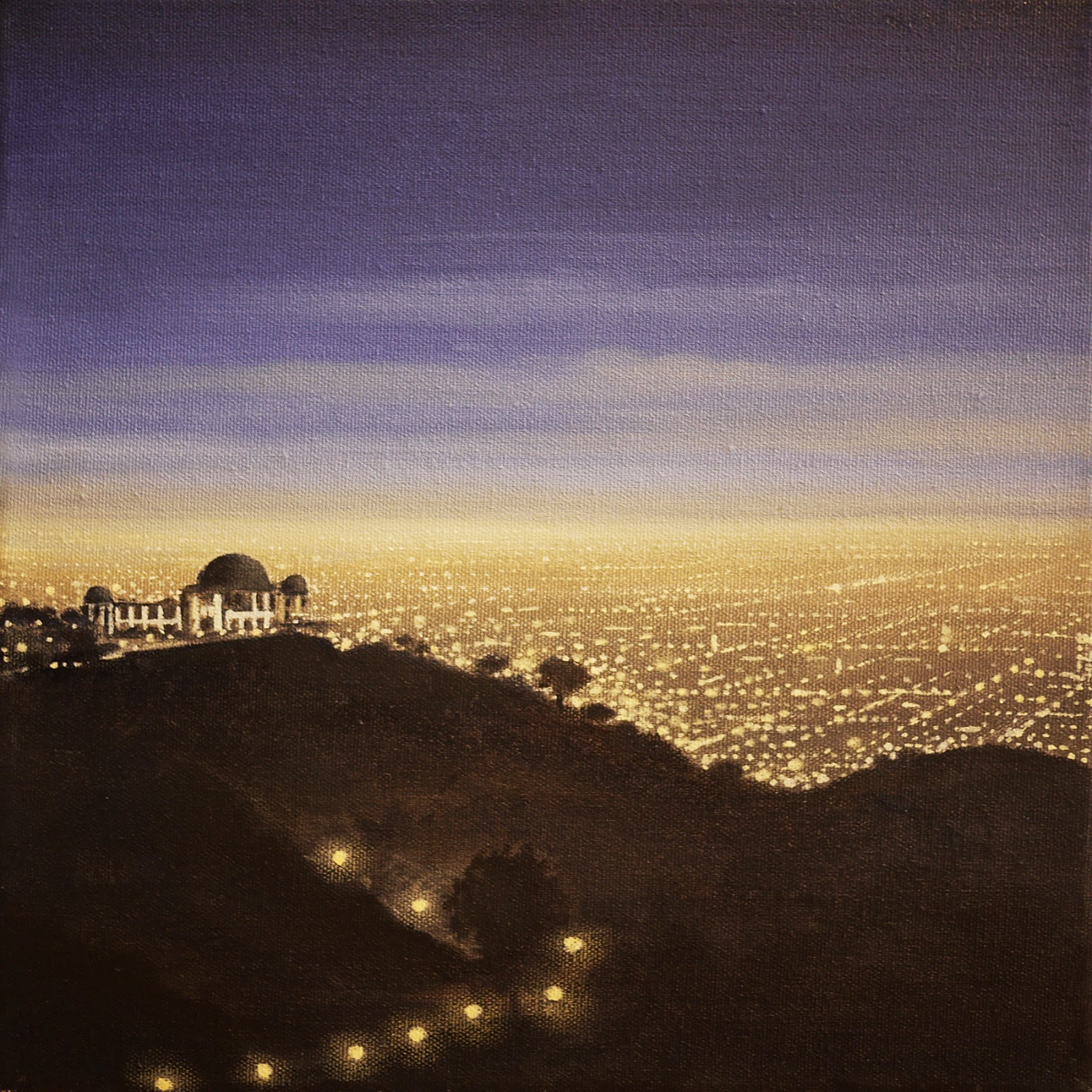 LOS ANGELES FROM OBSERVATORY HILL