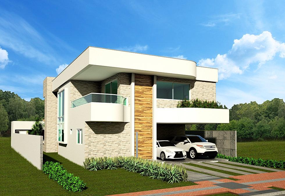 Nd studio arquitetura e design casa wave alphaville for Casa moderna 44 belvedere