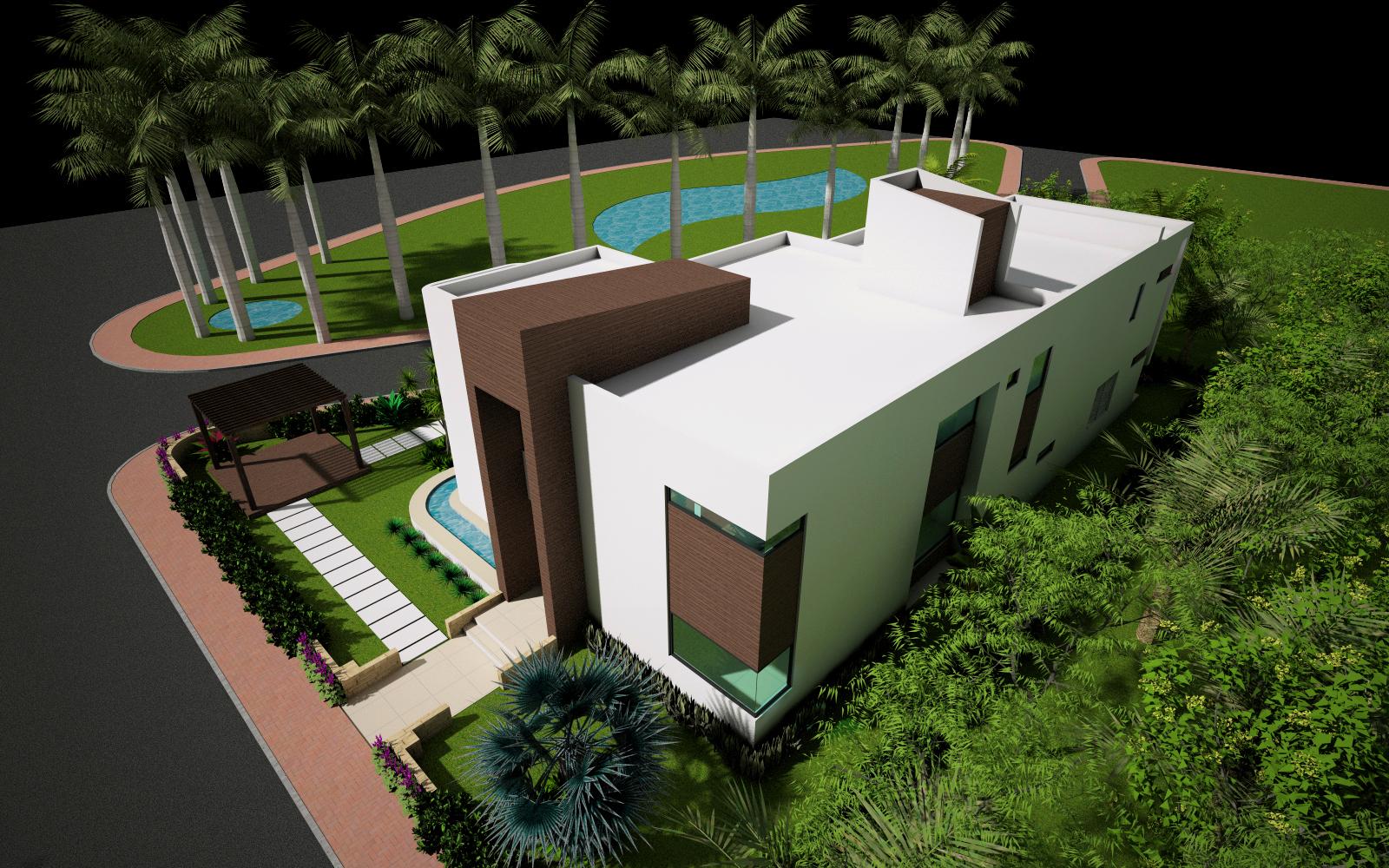 Casa Contemporânea - Praia Muro Alto