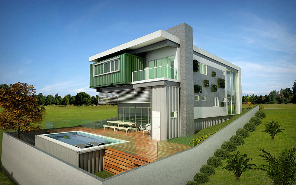 nd studio arquitetura design casa container alphaville pernambuco. Black Bedroom Furniture Sets. Home Design Ideas