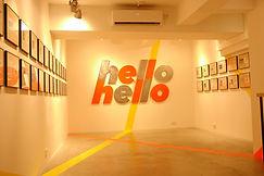 hellohello明信片展 深港设计双年展