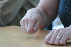 Le geste de la main
