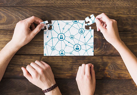 woman-and-man-solving-network-connectivi