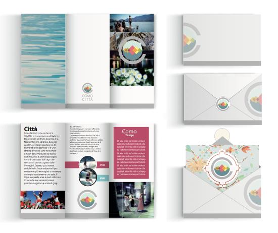 Brochure e inviti Como Città