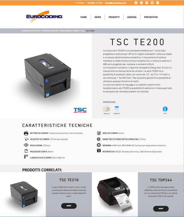 Template prodotti Eurocoding.com