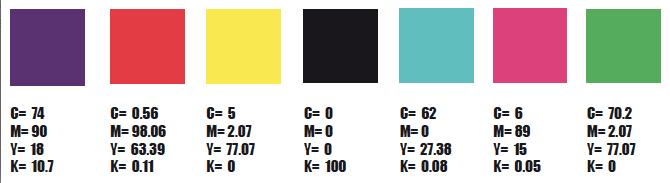 Palette colori Play Dirty