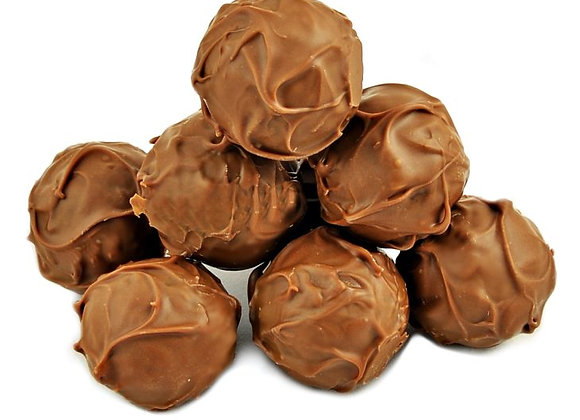 Dark Chocolate Sea Salt Caramel Truffles