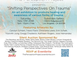 """""""Shifting Perspectives On Trauma"""" @ Substrate Gallery"""