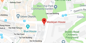 Methodist International Church English Service, Wesleyan House, 271 Queen's Road East