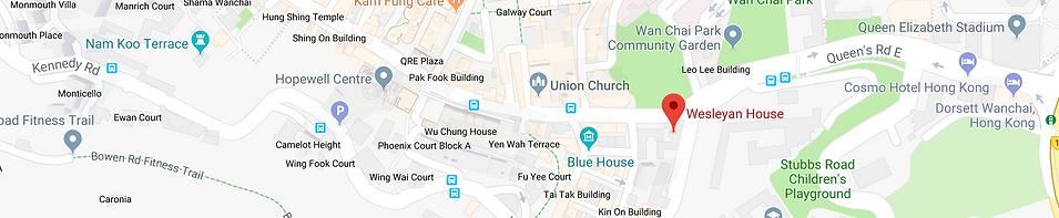 Methodist Intenational Church, Wesleyan House, 271 Queen's Road East, Wan Chai