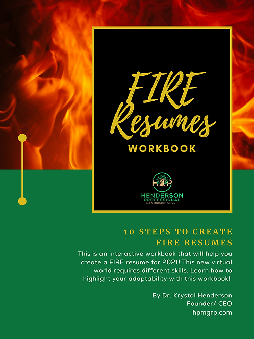 HPMGRP FIRE Resumes Workbook