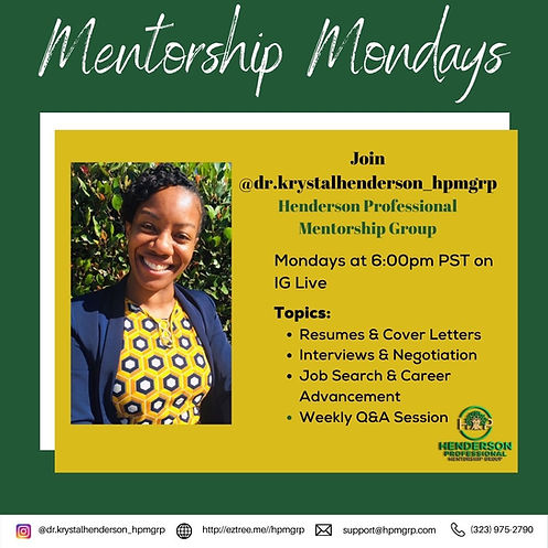 HPMRGP_Mentorship Mondays-6PM.jpg