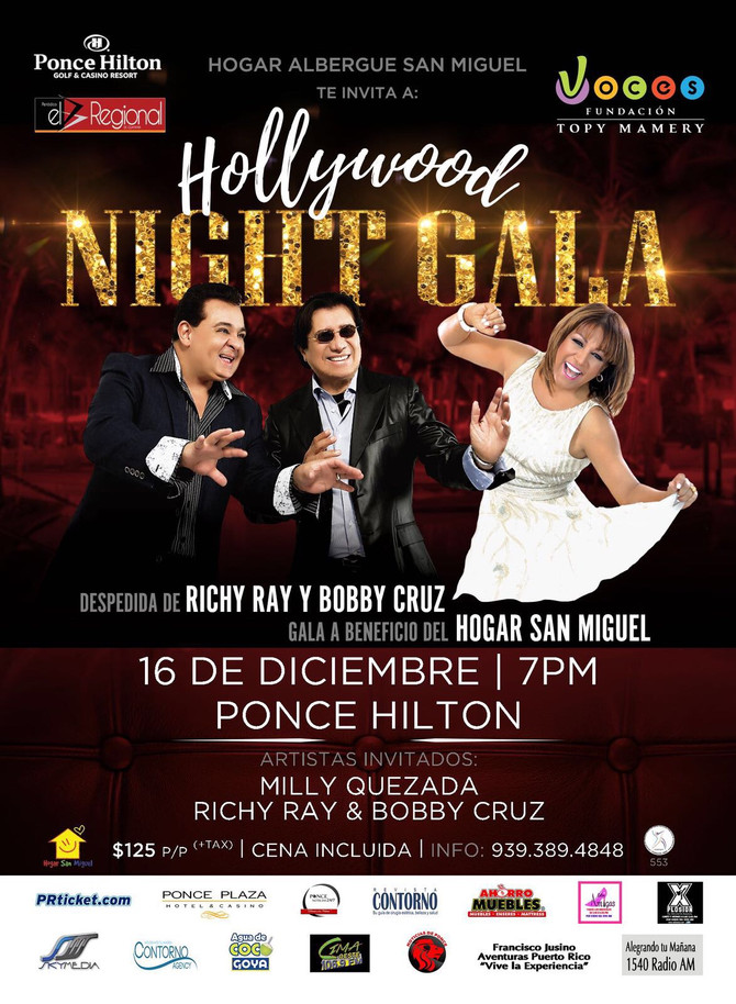 Voces se une a Hollywood Night Gala