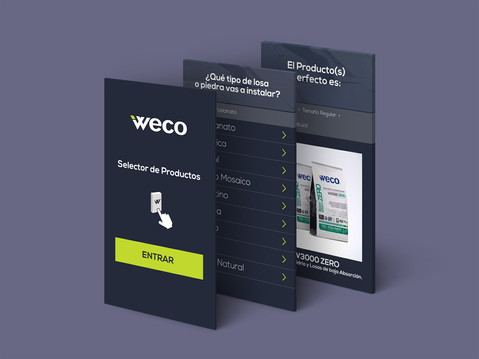 Weco - web based-app