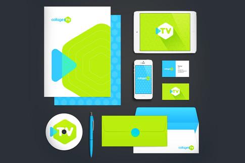 Collage TV Branding