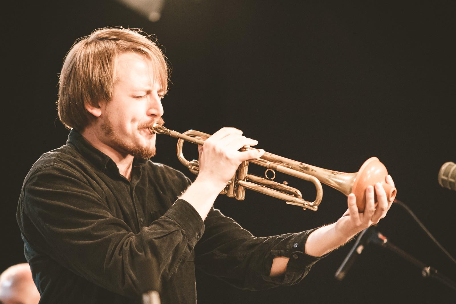 Cecilie Grundt Quintet + Nils-Olav Johansen, Live at Dokkhuset 29.03.19. Photo: Juliane Schütz