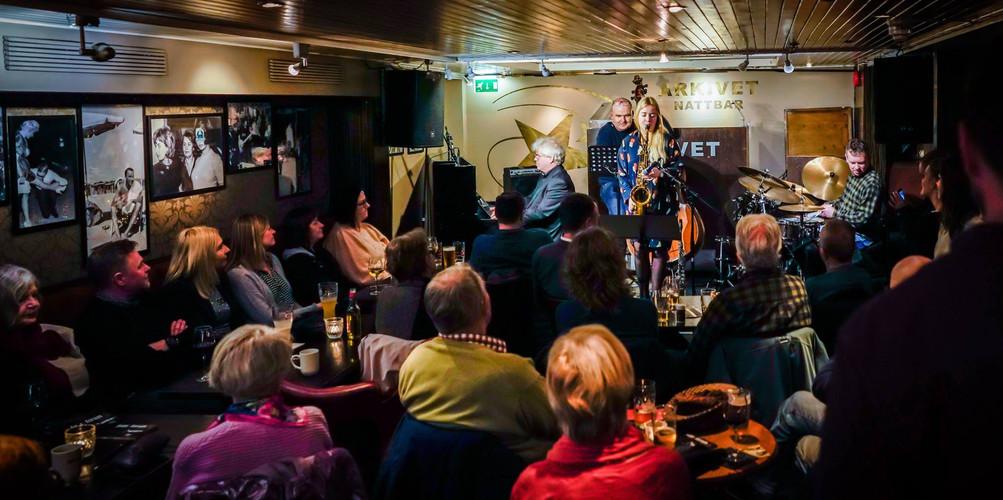 Cecilie Grundt Quartet Jazzarkivet Stavanger 13.03.19  Photo: Jazzarkivet