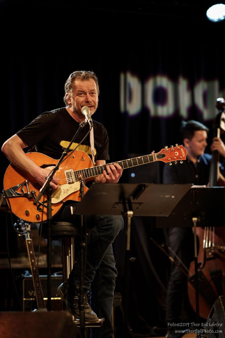 Cecilie Grundt Quintet + Nils-Olav Johansen, Live at Dokkhuset 29.03.19. Photo: Thor Egil Leirtrø