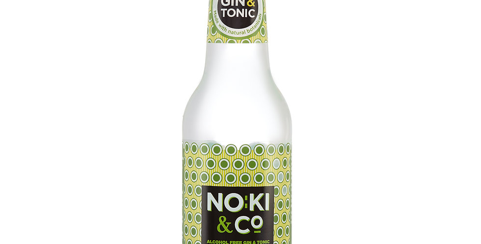 Noki & Co. Alcohol Free Gin & Tonic Flavoured Drink 0% ABV