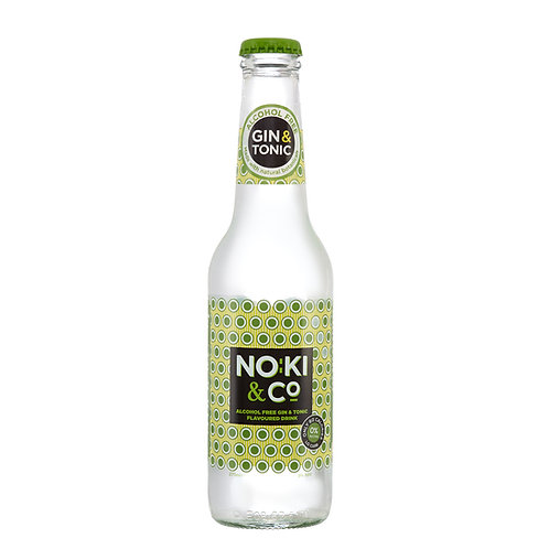 Noki & Co. Alcohol Free Gin & Tonic Flavoured Drink 0%