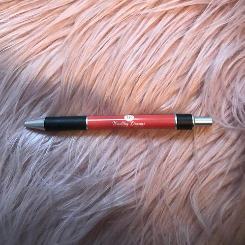 Wealthy Dreams Ink Pen