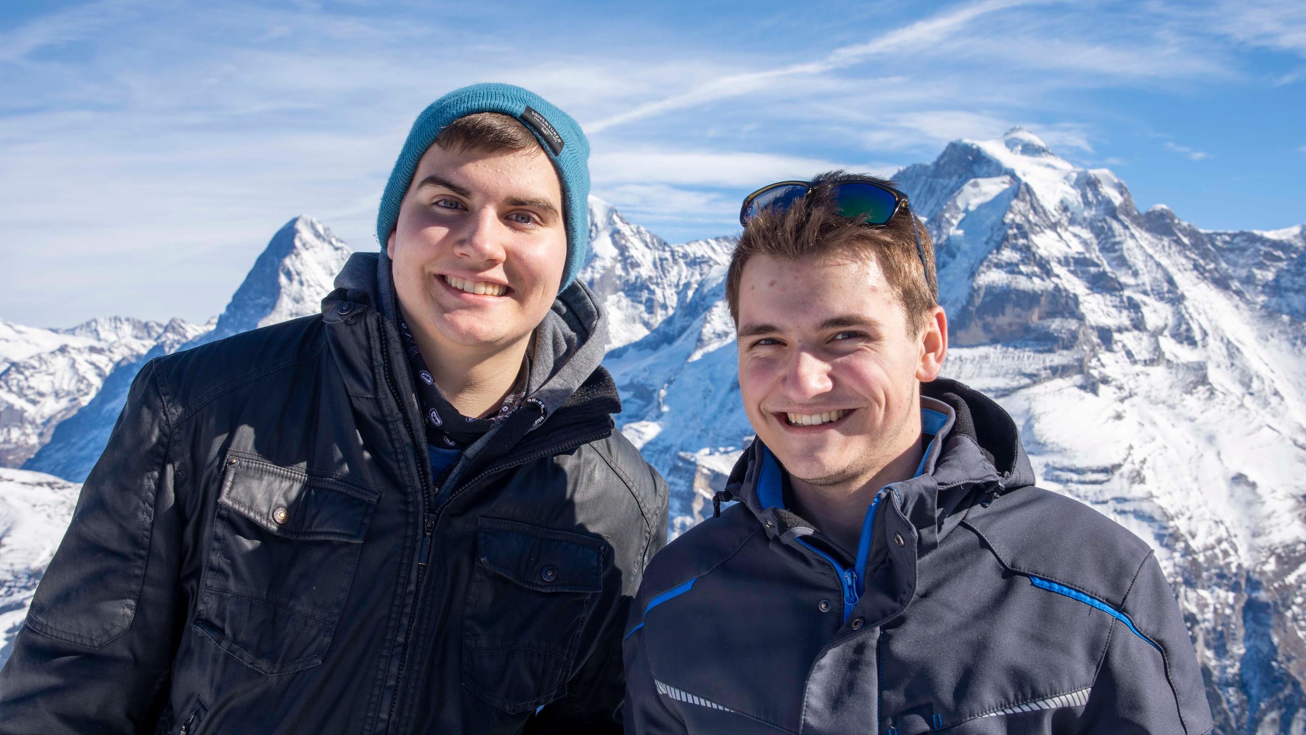 Johannes und Stefan
