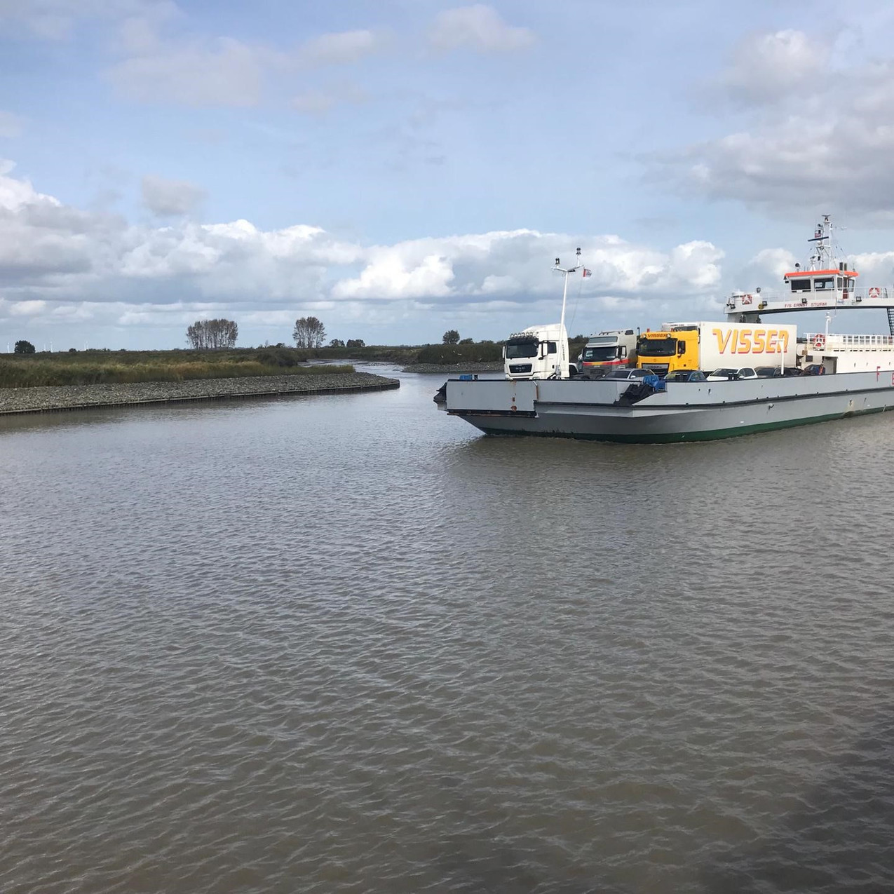 Arbeitsweg per Schiff
