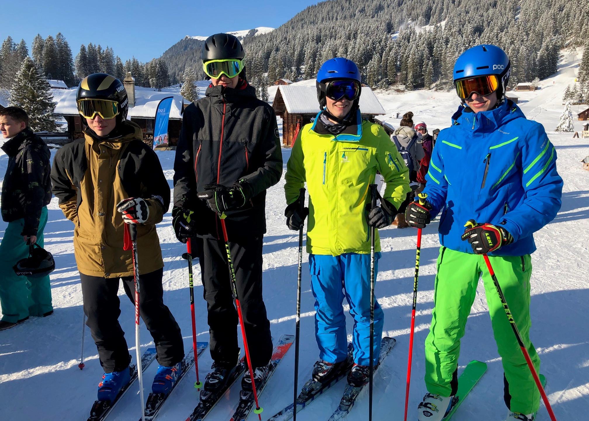 Skifahren Fortgeschritten 2