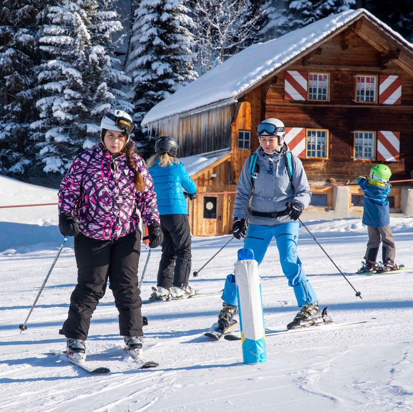 Skifahren Einsteiger 3