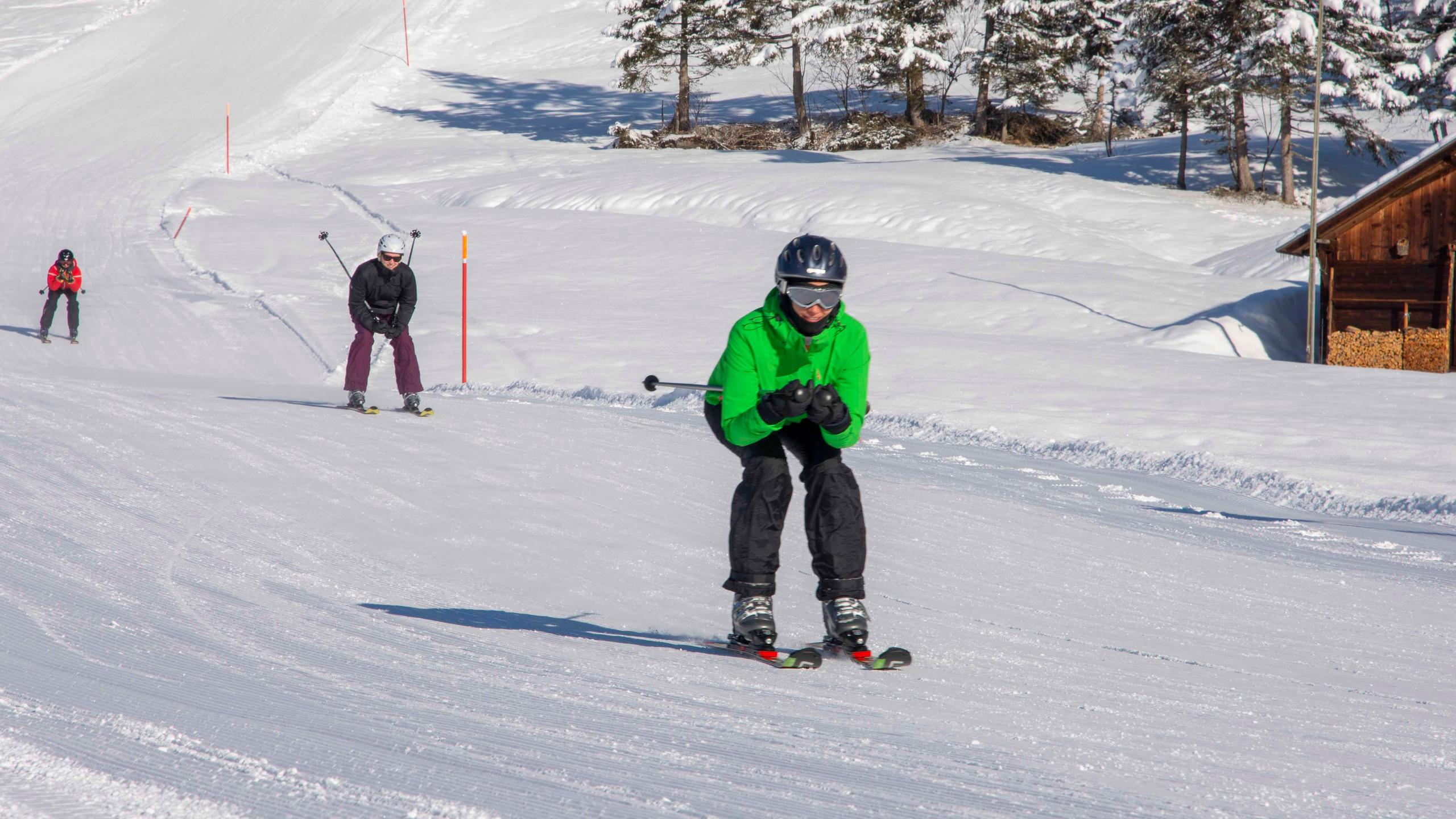 Skifahren Fortgeschritten