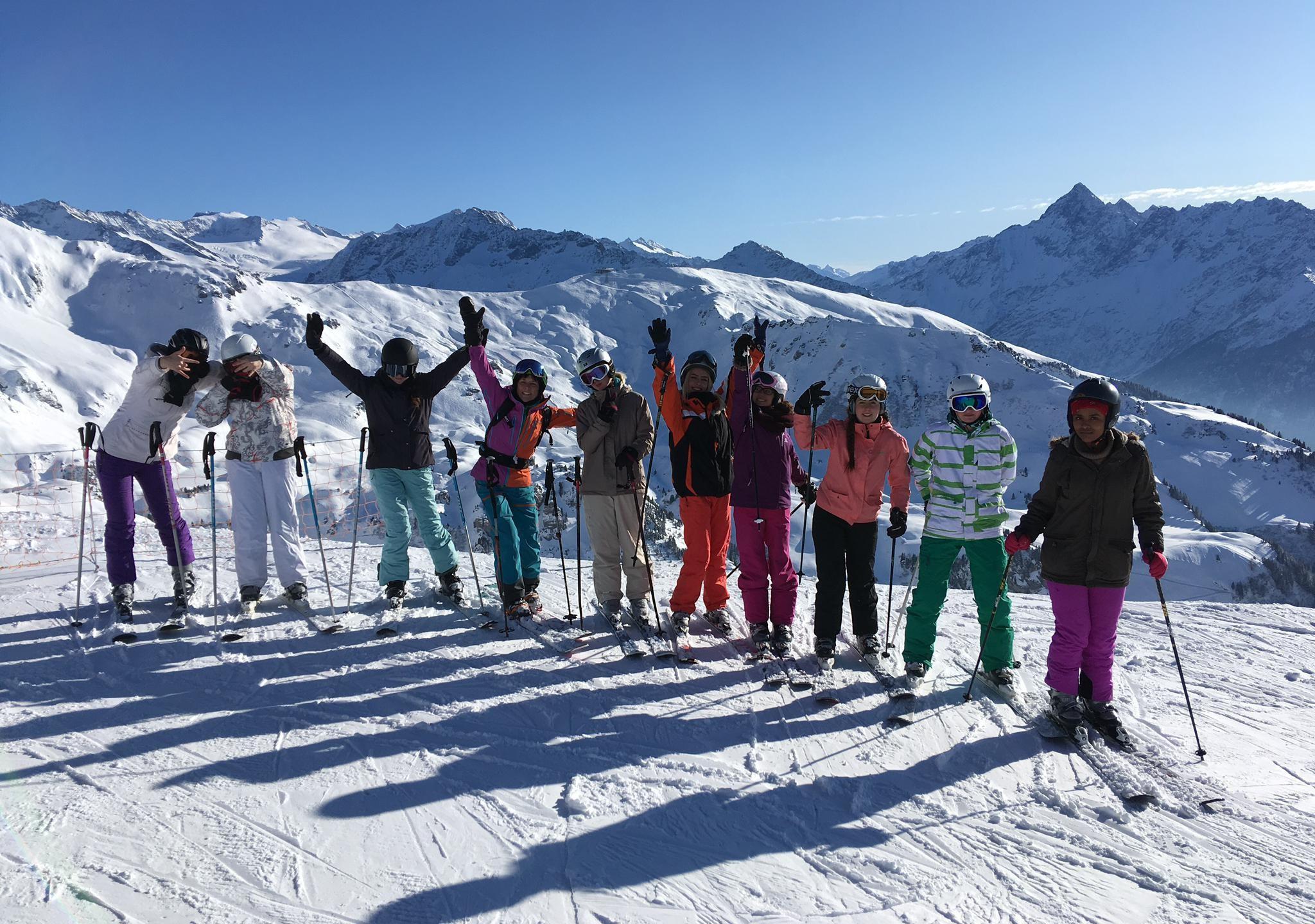 Skifahren Fortgeschritten 1