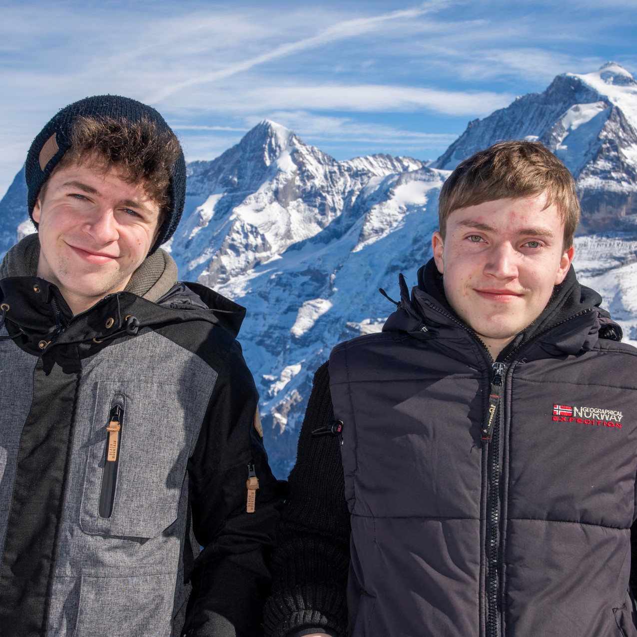 Luca und Justin