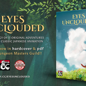 EYES UNCLOUDED: Now a HARDCOVER book!