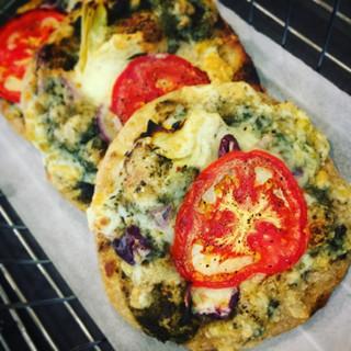 Sourdough flatbread