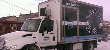 Scheduled deliveries truck for file / document / record deliveries