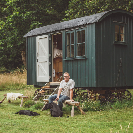 sussex huts brand photography